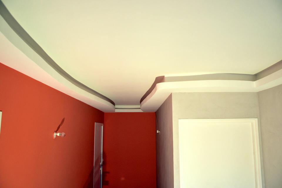plafond placo déco